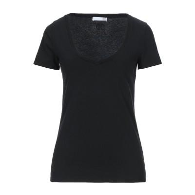DOUUOD T シャツ ブラック L コットン 100% / ポリウレタン T シャツ