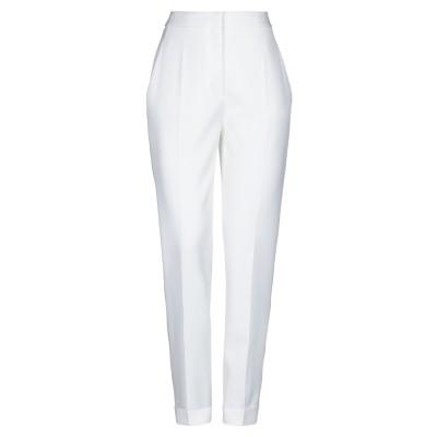 ステラ マッカートニー STELLA McCARTNEY パンツ ホワイト 40 ウール 100% / コットン / ポリエステル / シルク パンツ