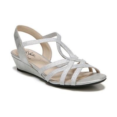 ライフストライド サンダル シューズ レディース Yaya Strappy Dress Sandals Silver