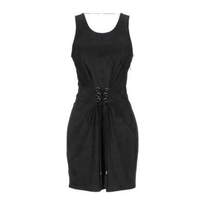 パトリツィア ペペ PATRIZIA PEPE ミニワンピース&ドレス ブラック 42 ポリエステル 100% ミニワンピース&ドレス