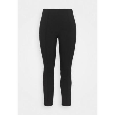 エヴァンス カジュアルパンツ レディース ボトムス PULL ON TREGGING - Trousers - black