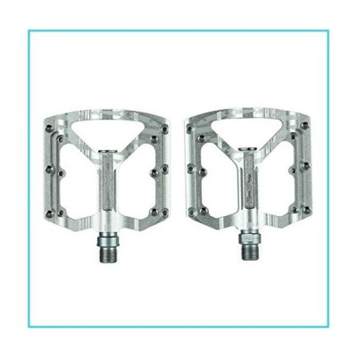 Bicycle Components Bicycle Pedals Anti-Slip Aviation Aluminum Alloy CNC MTB Mountain Road Bike Pedal (Color : 3)【並行輸入品】