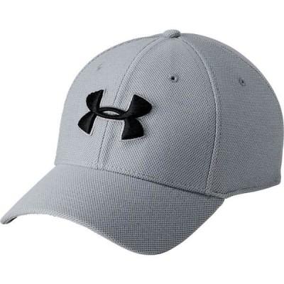 アンダーアーマー 帽子 アクセサリー メンズ Under Armour Men's Heathered Blitzing Hat Steel/Steel/Black