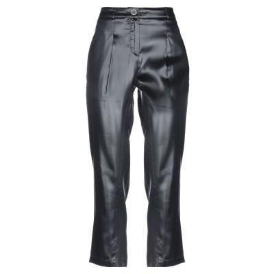 ブルマリン BLUMARINE パンツ ブラック 38 アセテート 60% / ヴィニョン 40% パンツ