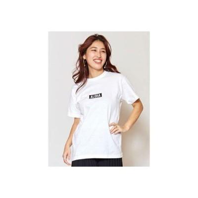 【Kahiko】ALOHA ALOHA Tシャツ Sサイズ ホワイト