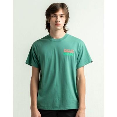 デウス エクス マキナ DEUS EX MACHINA メンズ Tシャツ トップス Won Ton Off White T-Shirt TEAL GREEN