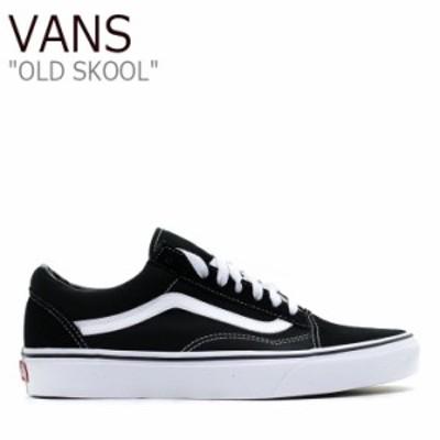 バンズ オールドスクール スニーカー VANS メンズ レディース OLD SKOOL BLACK ブラック VN000D3HY281 VN-0D3HY28 シューズ