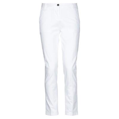BRIAN DALES & LTB パンツ ホワイト 28 コットン 96% / ポリウレタン 4% パンツ