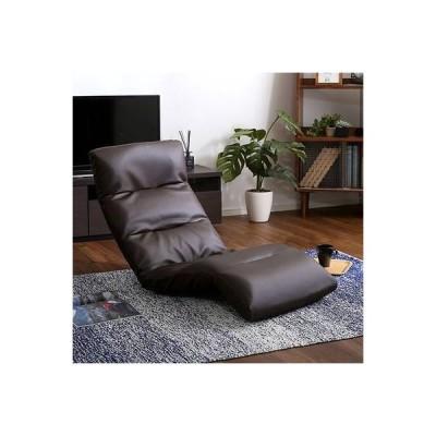 座椅子 リクライニング チェア 低い 椅子 ソファー 1人掛け 一人暮らし  ローソファー こたつ ハイバック レザーソファー
