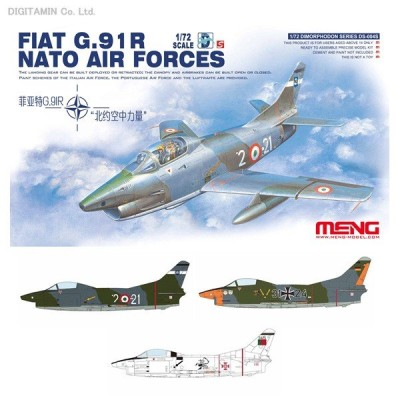 1/72 G.91R NATO (限定) プラモデル モンモデル MENDS-004S(ZS16504)