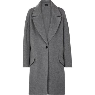 イザベル マラン Isabel Marant レディース コート アウター Fego single-breasted coat Grey