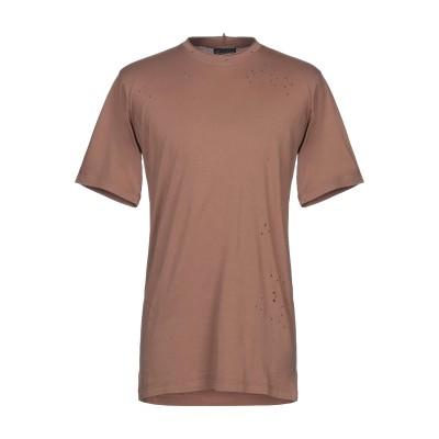 DARK LABEL T シャツ ブラウン M コットン 100% T シャツ