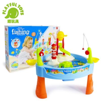 Playful Toys 頑玩具 電動戲水釣魚(聲光捕魚遊戲)