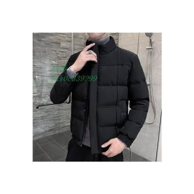 ダウンジャケット メンズ ダウンコート 中綿 3色 防寒 厚手 ジャケット 20代30代40代50代 立襟 通学 秋冬