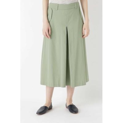 HUMAN WOMAN ヒューマン ウーマン コットンツイルキュロットスカート