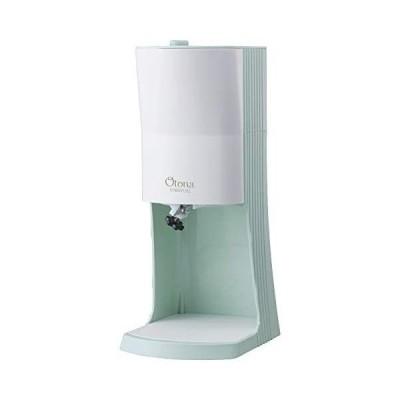 (2021年モデル) ドウシシャ 電動ふわふわ とろ雪 かき氷器 製氷カップ3セット付き グリーン