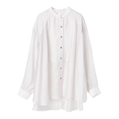 ・バックリボンシアーシャツ