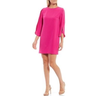 トリーナターク レディース ワンピース トップス Battista 3/4 Tulip Sleeve Sheath Dress