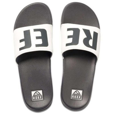 リーフ Reef メンズ サンダル シューズ・靴 One Slide Sandals Grey/White