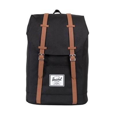Herschel Supply Co Retreat Straps Backpack Rucksack Bag Black 並行輸入品