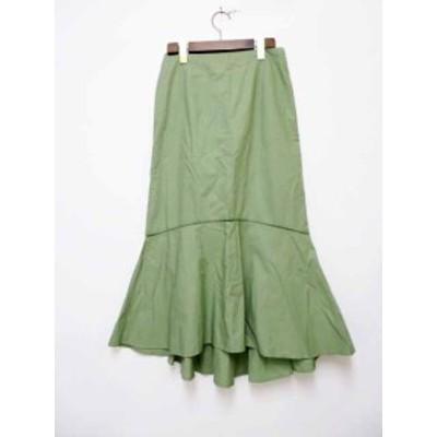 【中古】トゥモローランド TOMORROWLAND FIL インド製 コットン フィッシュテールロングスカート 200917★ レディース