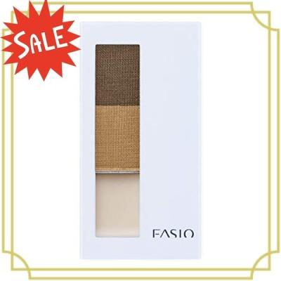 Fasio(ファシオ) アイブロウ パウダー&ベース BR301 ライトブラウン 2.5g
