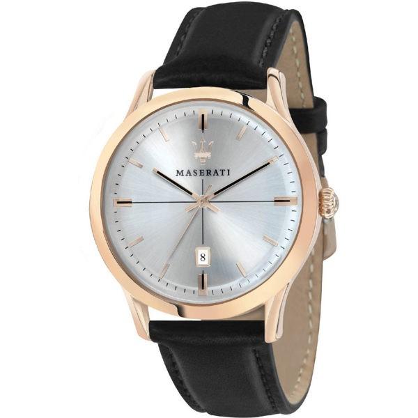 MASERATI WATCH 瑪莎拉蒂手錶 R8851125005 真皮錶帶 錶現精品 原廠正貨