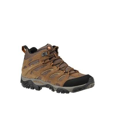 ブーツ メレル Merrell メンズ Moab Mid ウォータープルーフ Hiking ブーツ サイズ 9M   ミディアム
