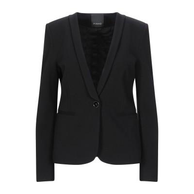 ピンコ PINKO テーラードジャケット ブラック 38 レーヨン 67% / ナイロン 28% / ポリウレタン 5% テーラードジャケット