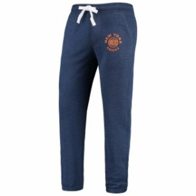 Sportiqe スポーティック スポーツ用品  Sportiqe New York Knicks Navy Quincy French Terry Classic Sweatpants