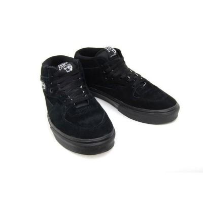 バンズ ハーフキャブ ブラック ブラック スエード メンズ レディース スケート VANS HALF CAB BLACK/BLACK VN0DZ3BKA