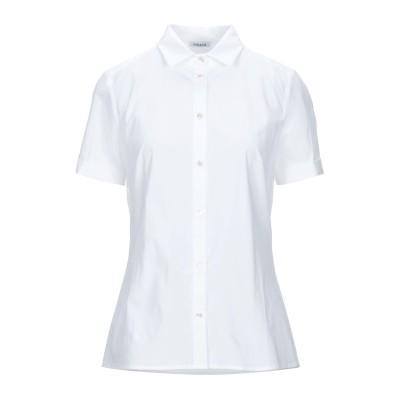 パロッシュ P.A.R.O.S.H. シャツ ホワイト S コットン 96% / ポリウレタン 4% シャツ