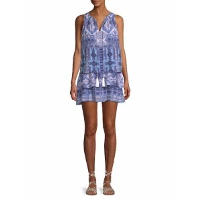 ファースト サイト レディース ワンピース Tie-Front Short Dress