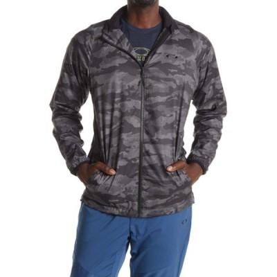 オークリー メンズ ジャケット&ブルゾン アウター Enhance Graphic Wind Warm Jacket BLACK PRINT