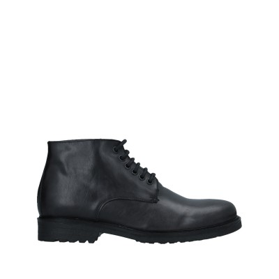 RICHARD LARS ショートブーツ ブラック 40 牛革(カーフ) ショートブーツ
