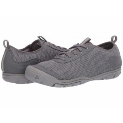 Keen キーン レディース 女性用 シューズ 靴 スニーカー 運動靴 Hush Knit CNX Steel Grey/Drizzle【送料無料】
