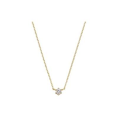 [VAヴァンドーム青山] VA VENDOME AOYAMA K18YG ダイヤモンド 0.06ct 1粒 ネックレス