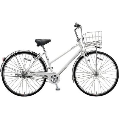 【防犯登録サービス中】送料無料 ブリヂストン 自転車 ロングティーンDX チェーン LG6STP PXシャンパンホワイト