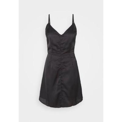 ヤス ワンピース レディース トップス YASALMA STRAP SHORT DRESS - Day dress - black