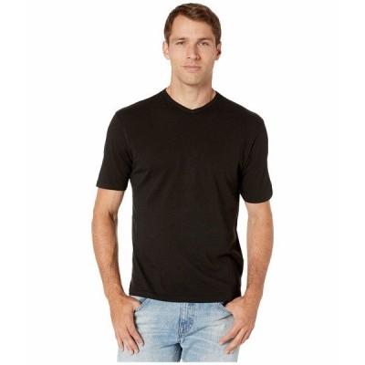 モッドドック シャツ トップス メンズ San Diego Short Sleeve V-Neck Black
