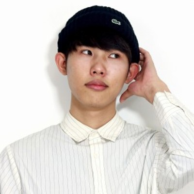 LACOSTE ニット帽 メンズ 春 夏 ニットワッチ レディース 日本製 ビーニー シンプル 綿 ラコステ