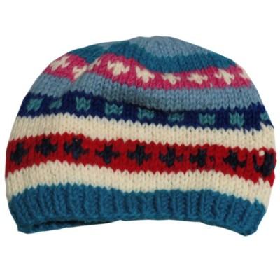帽子 ネパールウール・ニットキャップ42 クリックポスト選択 送料200円
