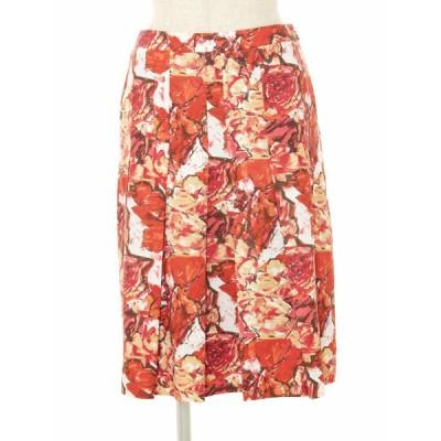 エムズグレイシー スカート フラワーモチーフ 花柄 38