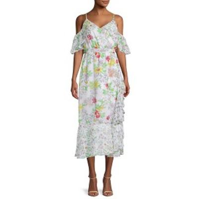 ナネットレポー レディース ワンピース トップス NANETTE nanette lepore Printed Ruffled Day Dress -