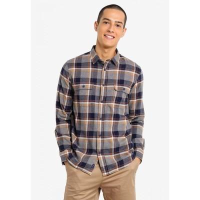 ザアカデミーブランド The Academy Brand メンズ シャツ トップス Watts Shirt Navy