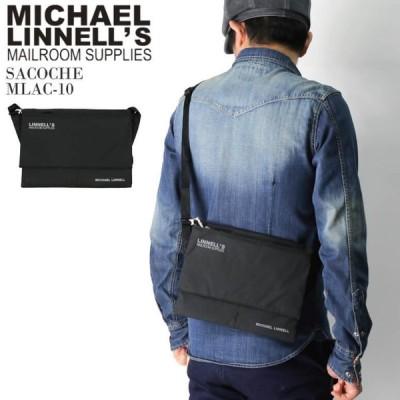 (マイケルリンネル) MICHAEL LINNELL サコッシュ ミニ ショルダーバッグ ポーチ 2L 撥水加工 軽量素材 高耐久性 メンズ レディース