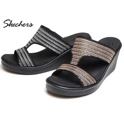 スケッチャーズ SKECHERS 119001 Rumble On-BLING GAL ミュールサンダル レディース 靴