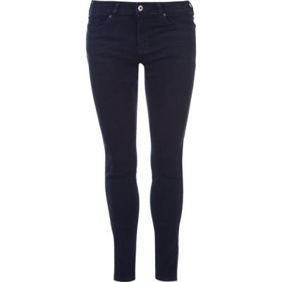 スコッチ&ソーダ Scotch and Soda レディース ジーンズ・デニム ボトムス・パンツ Pitch Dark stripe embroidered jeans Denim Dark Indigo