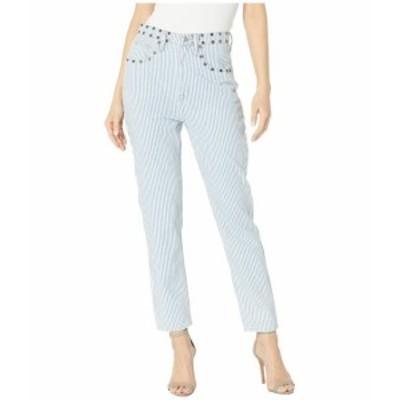 Juicy Couture ジューシークチュール 服 デニム Denim Ticking Stripe Girlfriend Jeans