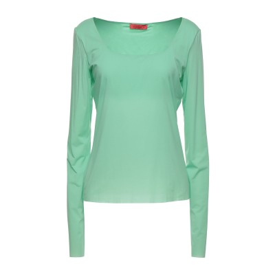 MAX & CO. T シャツ ライトグリーン S ナイロン 80% / ポリウレタン 20% T シャツ